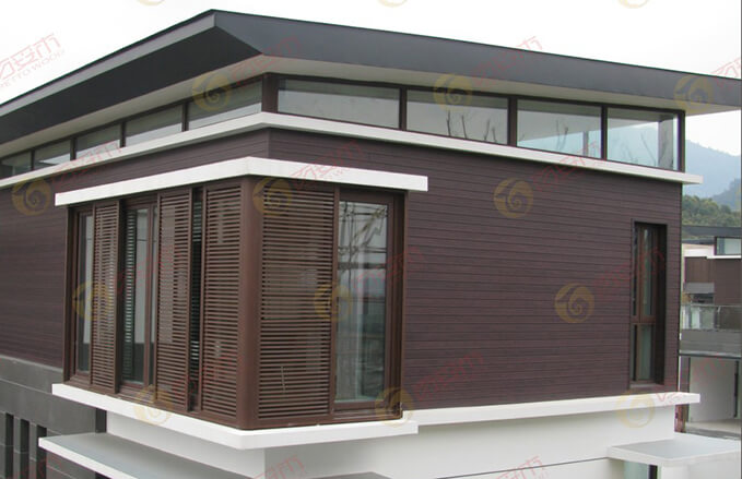WPC Sunshade Grille & Screen for Villas