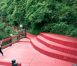 Outdoor WPC Decking Engineering Gallery