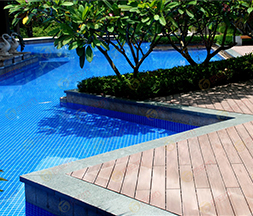 Swimming Pool WPC Decking Floor USA